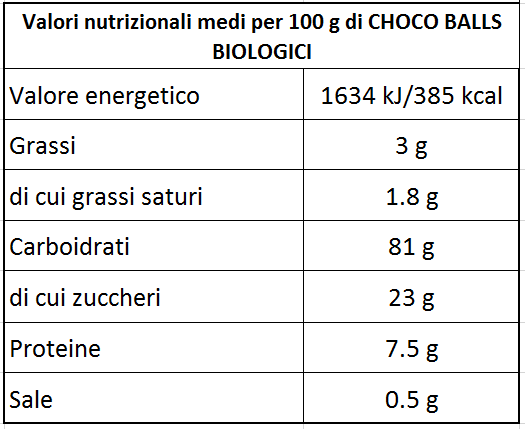 Choco Balls BIO