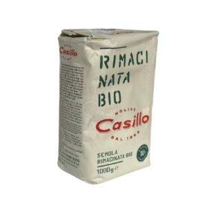 semola rimacinata di grano duro biologica