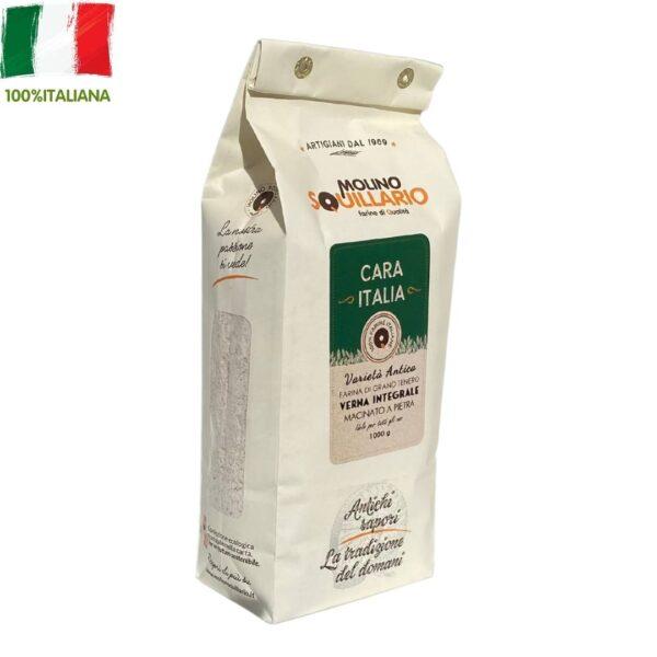Farina di grano Verna integrale 100% italiano